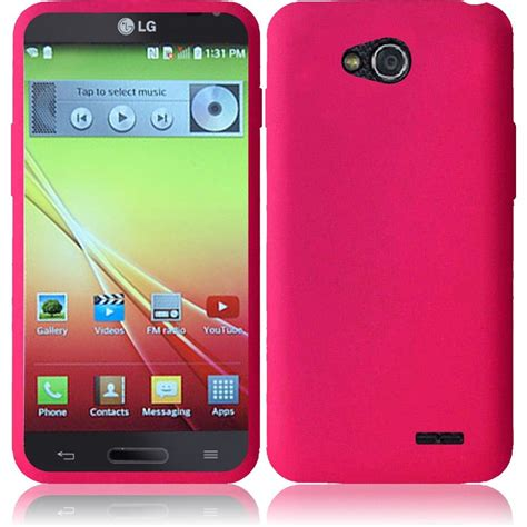 lg optimus phone cases for lg optimus l90 silicone skin soft rubber phone cover