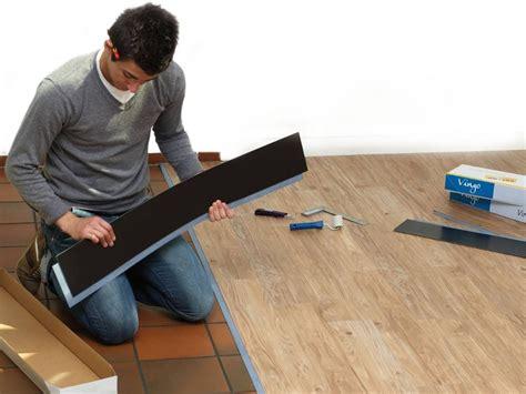 Fliesen Legen Fußboden by Vinyl Planken Auf Fliesen Legen Heimwerken