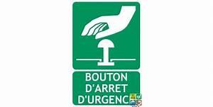 Bouton Arret D Urgence : panneau bouton d 39 arr t d 39 urgence ~ Nature-et-papiers.com Idées de Décoration