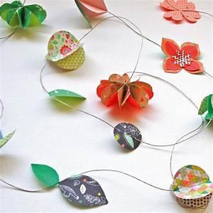 Faire Une Guirlande En Papier : guirlande en papier facile good guirlande papier origami with guirlande en papier facile ~ Melissatoandfro.com Idées de Décoration