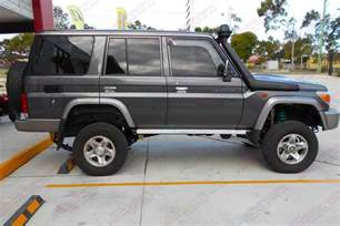 ford ranger 2 inch lift toyota landcruiser 76 series wagon grey 39217 superior customer vehicles