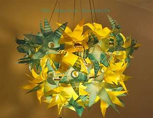 Make a Recycled Plastic Bottle Chandelier » Dollar Store