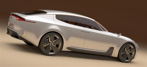 Kia Four Door by Kia Four Door Sports Sedan Concept At Frankfurt Motor Show