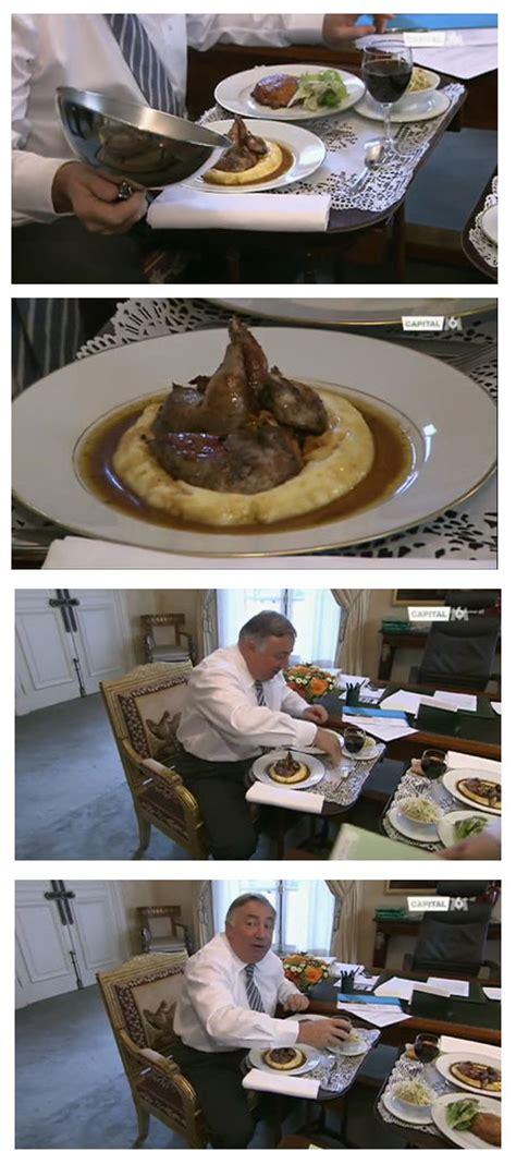 cuisiner le perdreau quand le président du sénat chasse propre déjeuner en