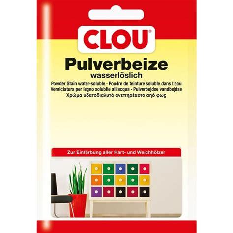 Clou Beize Pulver by Clou Wasserbeize Im Pulver 250 Beutel