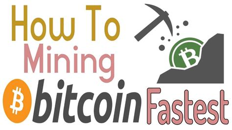 The bitcoin mining software is a command line application that is fast and efficient with full monitoring, remote interface capabilities and fan speed control. How To Mining Bitcoin & Best Bitcoin Software For PC - YouTube