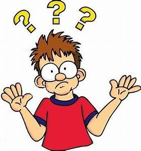 Confused Clipart