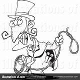 Noose Clipart Illustration Toonaday Royalty Rf sketch template