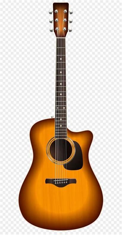 Guitar Acoustic Clip Background Transparent Clipart Electric