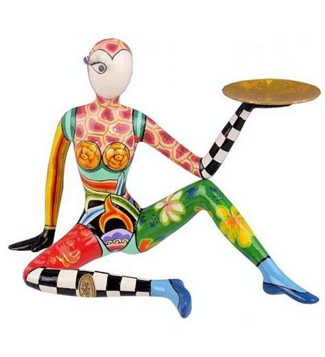 toms drag acrobat candle holder 25x17cm 3741 shop ceramic parts papier m 226 ch 233