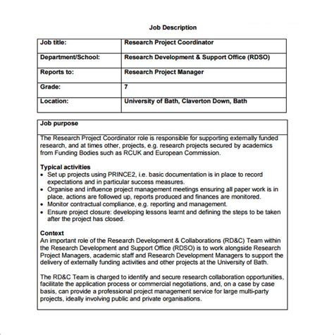 hr coordinator description human resources