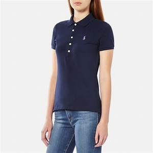 Polo Ralph Lauren Women's Julie Polo Shirt - Cruise Navy ...