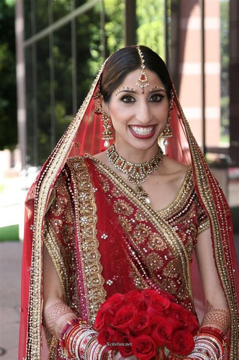 indian bridal traditional dress jewelry  makeup