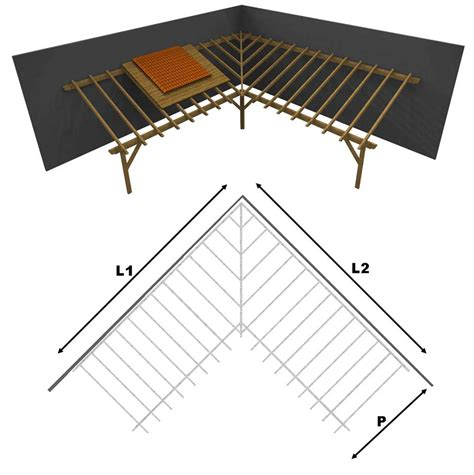 montaggio tettoia in legno tettoia porticato in lamellare a l interno