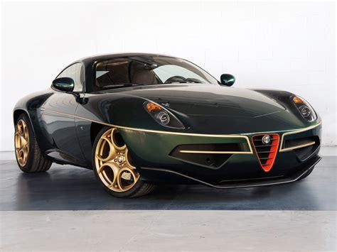 Green And Gold Alfa Romeo Disco Volante Arrives In Geneva