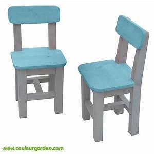 Chaise Bois Enfant : chaises pour enfants en bois colore ~ Teatrodelosmanantiales.com Idées de Décoration