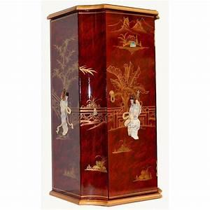 Meuble Chinois Rouge : meuble chinois rouge laqu meubles ~ Teatrodelosmanantiales.com Idées de Décoration