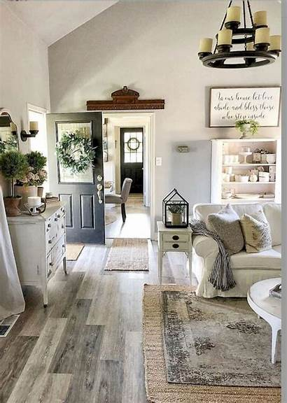 Country Living Modern Decorate Rustic Fireplace Focus