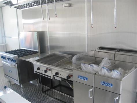 mobile kitchens of america standard equipments