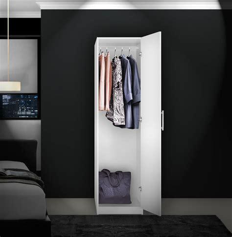 alta narrow wardrobe closet right opening door
