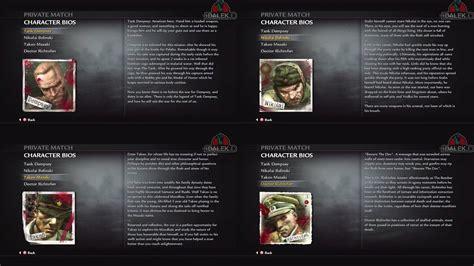 world  war easter egg  character bios
