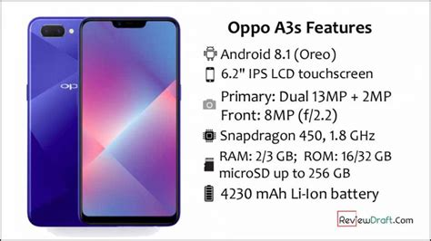 oppo a3s price in bangladesh specification review draft