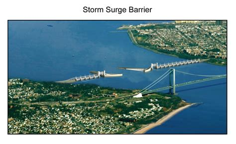 storm surge barrier national climate assessment