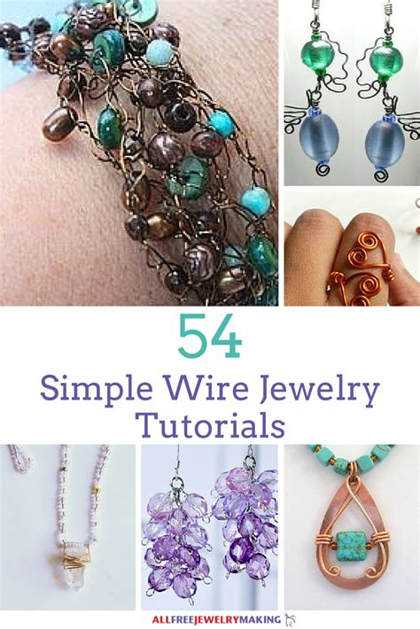 simple wire jewelry making tutorials