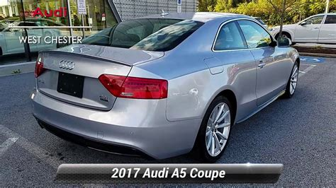 used 2017 audi a5 coupe sport west chester pa wc182 youtube