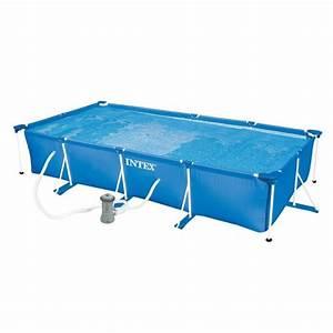 piscine tubulaire rectangulaire 45x22x084m achat With piscine autoportee rectangulaire intex 1 photo piscine bois hawai