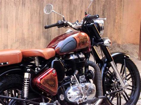 Royal Enfield Classic 500 Modification by This Modified Royal Enfield Classic 500 Is A Looker