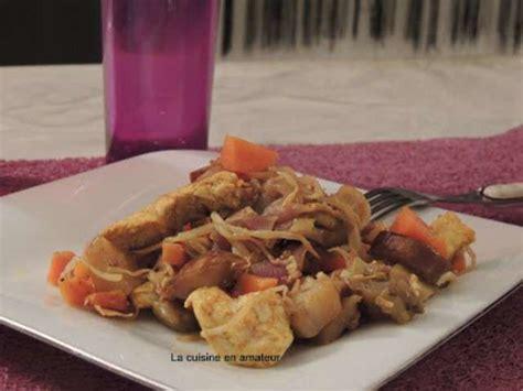 soja cuisine recettes recettes de poulet et carottes