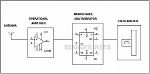 Use Of Mobile Phone Detector  Block Diagram Working And