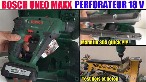 perforateur uneo maxx bosch bosch uneo maxx test avis 18v perforateur sds