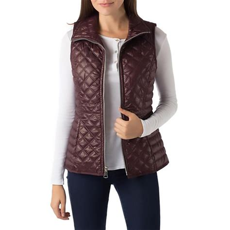 womens quilted vest marc new york 4569 womens quilted lightweight outerwear
