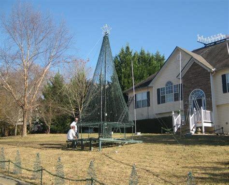 mega christmas tree  outdoor christmas decorations