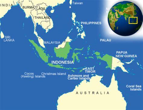 map  indonesia terrain area  outline maps