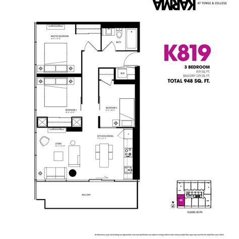 3 floor plans 3 bedroom condo floor plan photos and