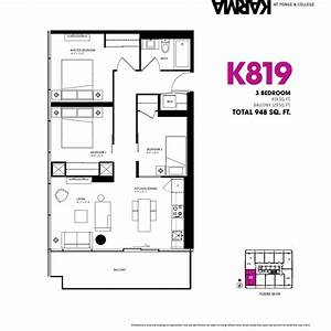 3 bedroom condo floor plan (photos and video