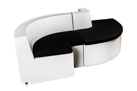 canap駸 ronds design canap rond design excellent canap microfibre ub design jade angle droit noir gris pas