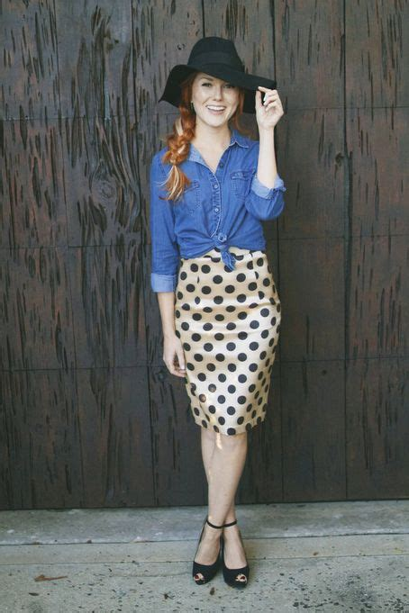 shabby apple polka dot skirt polka dot pencil skirt from the aussie afternoon collection by shabby apple dresses skirts