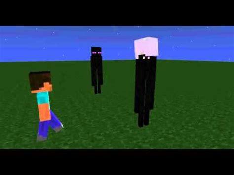 enderman meets slenderman minecraft animation youtube