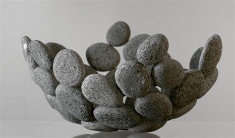 steine kleben außenbereich deko ideen mit steinen f 252 r innen und au 223 en freshouse