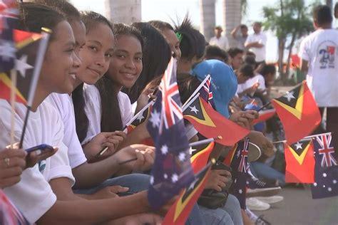 Timor Leste Anniversary Abc News Australian
