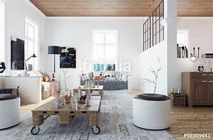 Wohnzimmer Scandi Style : scandinavian style living room wohnzimmer im schweden stil stockfotos und lizenzfreie bilder ~ Frokenaadalensverden.com Haus und Dekorationen