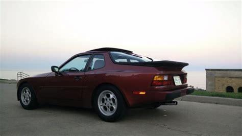 how make cars 1986 porsche 944 seat position control 1986 porsche 944 5 spd garnet red met recaro power seats low mileage
