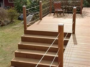 Erhöhte Terrasse Bauen : pin von katrin kaltenhauser auf holzterrasse terrasse garten und garten terrasse ~ Orissabook.com Haus und Dekorationen