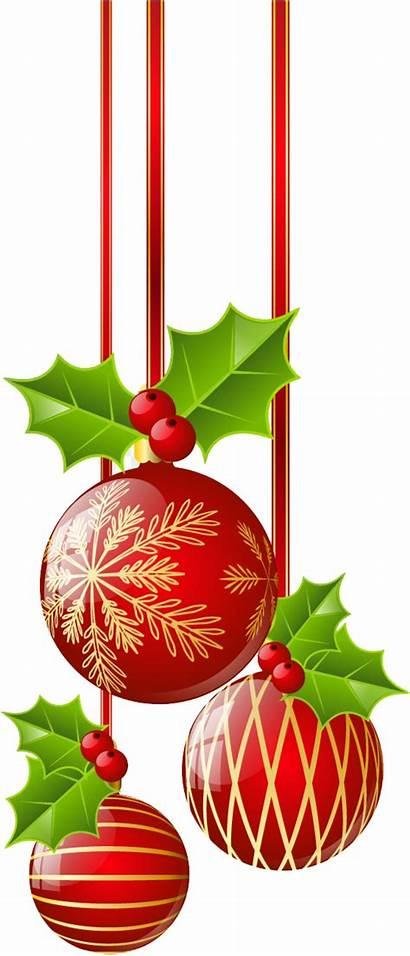 Christmas Decorations Clipart Ornaments Border Ornament Borders