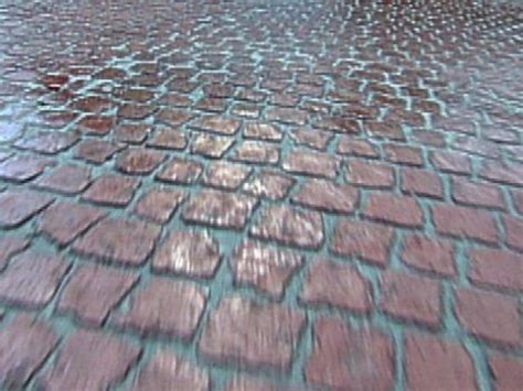 easy cobblestone driveway video diy