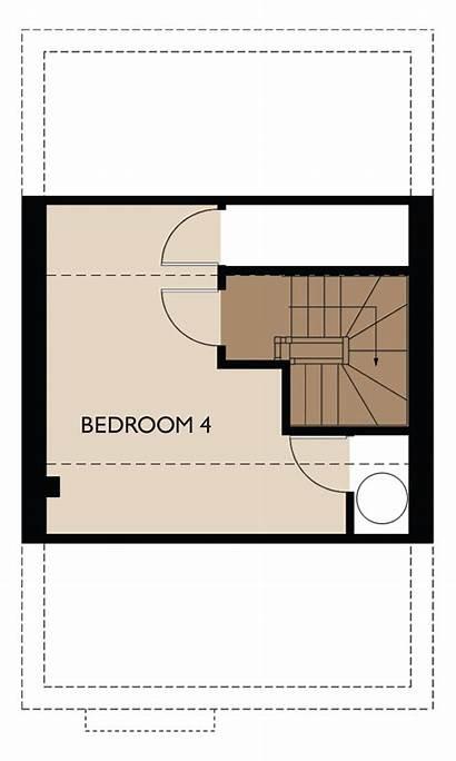 Floor Third Bedroom Homes